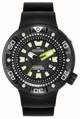 Citizen | mens eco-drive promaster diver | cinturino in caucciù nero | BN0175-01E
