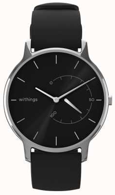 Withings Muovi chic senza tempo - nero, silicone nero HWA06M-TIMELESS CHIC-MODEL 1-RET-INT