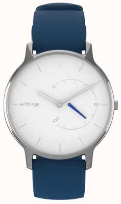 Withings Muovi chic senza tempo: silicone bianco e blu HWA06M-TIMELESS CHIC-MODEL 2-RET-INT