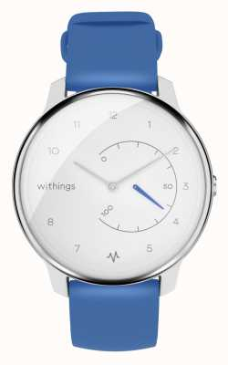 Withings Sposta ecg | bianco e blu | tracker di attività HWA08-MODEL 2-ALL-INT