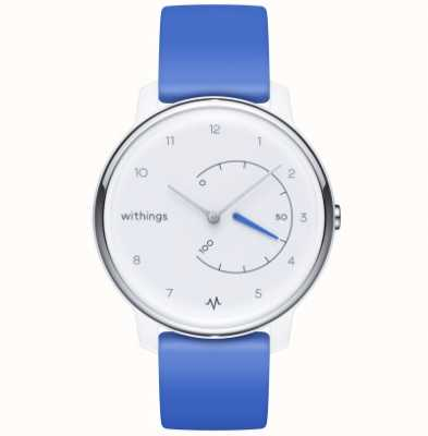 Withings Sposta ecg | bianco e blu | tracker di attività HWA08-MODEL 2-ALL-INT