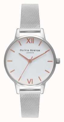 Olivia Burton | donne | midi | cinturino in maglia di acciaio inossidabile OB16MDW22