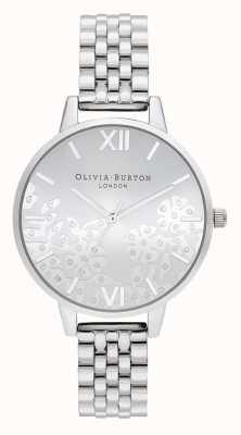 Olivia Burton | donne | pizzo ingioiellato | bracciale in acciaio inossidabile | OB16MV101