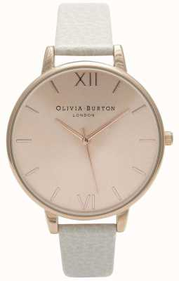 Olivia Burton | donne | quadrante sunray | cinturino in pelle di visone | OB13BD11