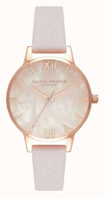 Olivia Burton | donne | semiprezioso | cinturino in pelle fiore | OB16SP02