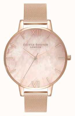 Olivia Burton | donne | semiprezioso | braccialetto a maglie in oro rosa | OB16SP01