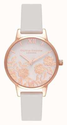 Olivia Burton | donne | dettaglio in pizzo | arrossire e oro rosa | OB16MV69