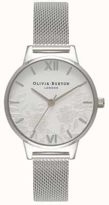 Olivia Burton | donne | dettaglio in pizzo | bracciale in maglia di acciaio inossidabile | OB16MV54