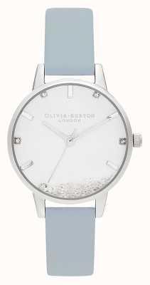Olivia Burton | donne | l'orologio dei desideri | cinturino blu gesso vegan | OB16SG07