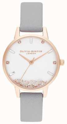 Olivia Burton | donne | l'orologio dei desideri | cinturino grigio | OB16SG08