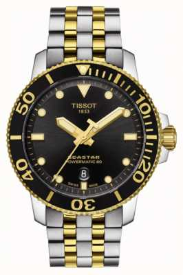 Tissot Seastar 1000 powermatic 80 automatico bicolore T1204072205100