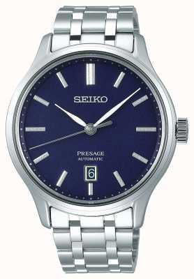 Seiko | presage | automatico | giardino zen | quadrante blu | SRPD41J1