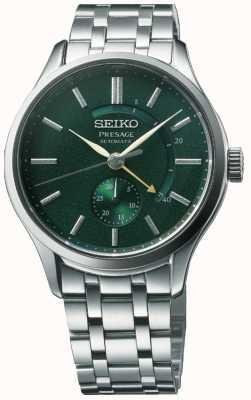 Seiko Presenta un 'orologio da giardino' automatico in zen con quadrante verde in acciaio inossidabile SSA397J1