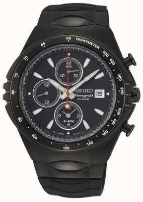 Seiko   serie concettuale   cronografo nero ip   orologio sportivo   SNAF87P1