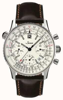 Sinn 903 st argento il cronografo di navigazione 903.042