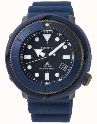 Seiko | prospex | serie di strada | silicone blu navy | subacqueo | SNE533P1