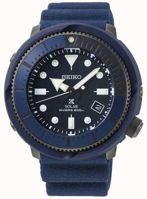 Seiko | prospex | serie di strada | silicone blu navy | | . del subacqueo SNE533P1