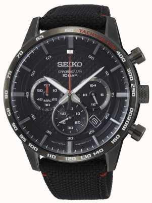Seiko   uomo   sport   cronografo   nero   SSB359P1