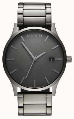 MVMT Link monocromatico classico | braccialetto placcato in pvd | quadrante grigio D-MM01-GR