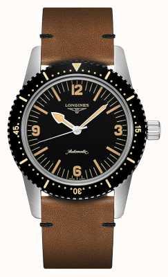 Longines | eredità di orologi subacquei skin | uomo | automatico svizzero | L28224562