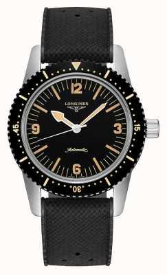 Longines | eredità di orologi subacquei skin | uomo | automatico svizzero | L28224569
