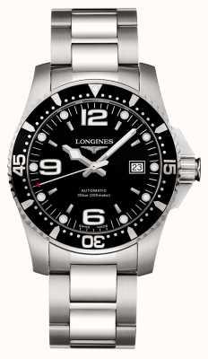 Longines | sport di idroconquista | 41mm da uomo | automatico svizzero | L37424566