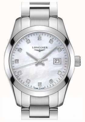 Longines   conquista classico   delle donne   quarzo svizzero L22864876