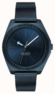 HUGO #act | maglia blu ip | quadrante blu 1530109