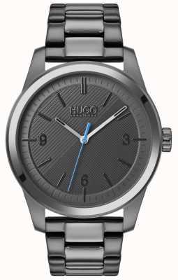 HUGO #create | braccialetto grigio ip | quadrante grigio 1530119