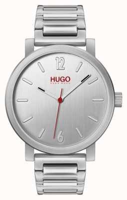 HUGO #rase | bracciale in acciaio inossidabile quadrante argentato 1530117