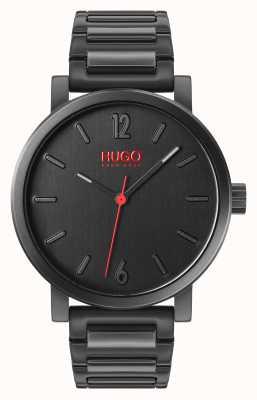 HUGO #rase | set regalo | portachiavi | titolare della carta | braccialetto ip nero 1570096