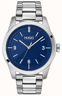 HUGO #create | bracciale in acciaio inossidabile quadrante blu 1530015