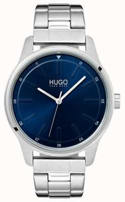 HUGO #dare | bracciale in acciaio inossidabile quadrante blu 1530020