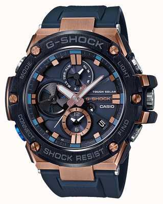 Casio | g-shock | g-steel | bluetooth | cronografo | blu | GST-B100G-2AER