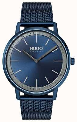 HUGO #esistere maglia blu ip | quadrante blu 1520011