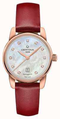 Certina | podio ds | signora automatica | diamante madreperla | C0010073611602