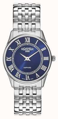 Roamer | delle donne | sonata | bracciale in acciaio inossidabile quadrante blu | 520820 41 45 50