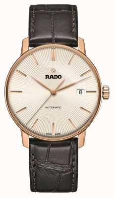 Rado | coupole classic automatico | pelle marrone | quadrante sunray | R22861115