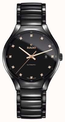 Rado Vero orologio in ceramica high-tech al plasma con diamanti automatici R27056732