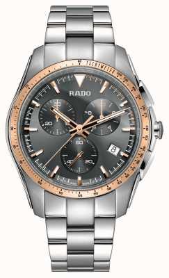 Rado | cronografo ipercromatico xxl | acciaio inossidabile | quadrante grigio | R32259163