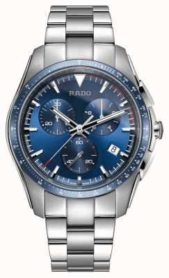 Rado Xxl cronografo ipercromatico in acciaio inossidabile quadrante blu R32259203