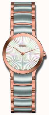 Rado Orologio quadrante Centrix bicolore in acciaio inossidabile con perla R30186923
