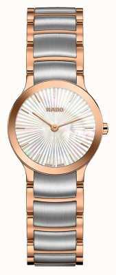 Rado | centrix | acciaio inossidabile bicolore | quadrante perla | R30186923
