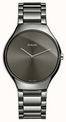Rado Vero quadrante grigio con cinturino in ceramica grigia sottile R27955122