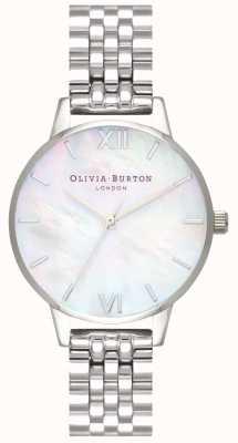 Olivia Burton | delle donne | quadrante in madreperla | bracciale in acciaio inossidabile | OB16MOP02