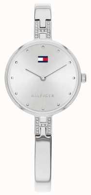Tommy Hilfiger Kit | bracciale in acciaio inossidabile quadrante argentato | 1782137