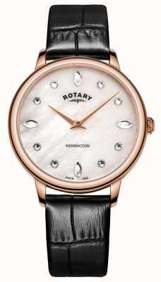 Rotary | kensington da donna | quadrante swarovski in madreperla | LS05174/41