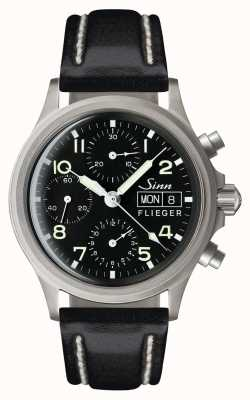 Sinn 356 cronografo pilota tradizionale (data inglese) 356.022-BL41201834001110402A