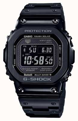 Casio | g-shock full metal | solare resistente | quadrante digitale | nero GMW-B5000GD-1ER