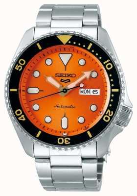 Seiko 5 sport | sport | automatico | quadrante arancione | acciaio inossidabile SRPD59K1